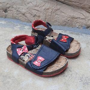 Disney Minnie Mouse size 11 Velcro sandals